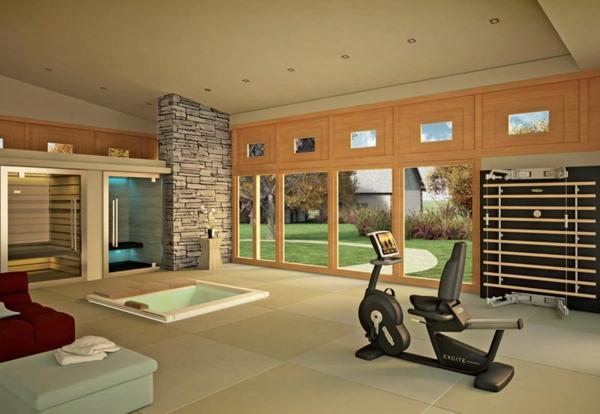 Fitnessraum Und Sportgerte Zu Hause Training Zuhause Einrichten Homegym.