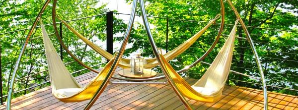 Garten Hängesessel und Hängematten sonne terrasse dach