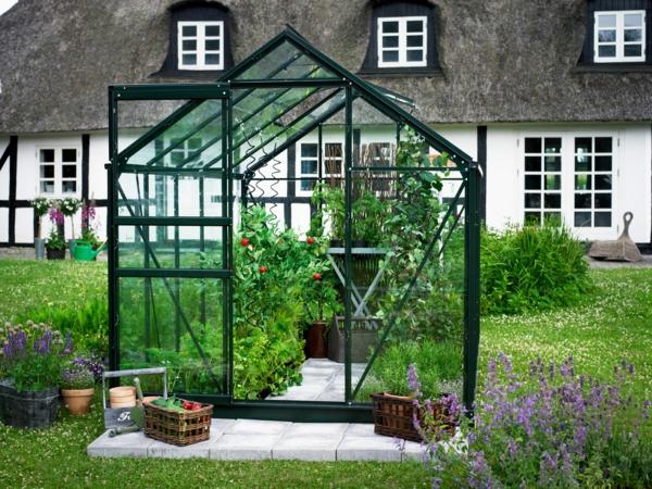 Gartengestaltung mit Steinen und Kies schöne pflanzen