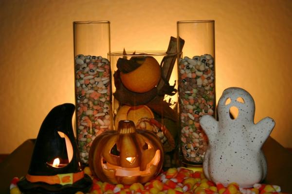 Halloween Deko selber machen getränke