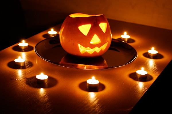 Halloween Deko selber machen kerzen jolly jack