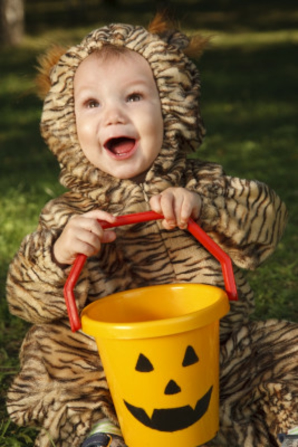 Kinderkostüme fröhlich tiermuster Halloween
