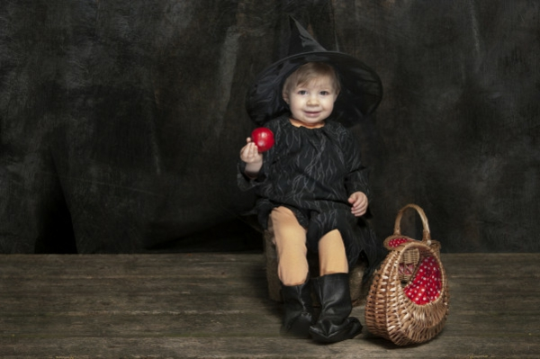 Kinderkostüme originell basteln Halloween