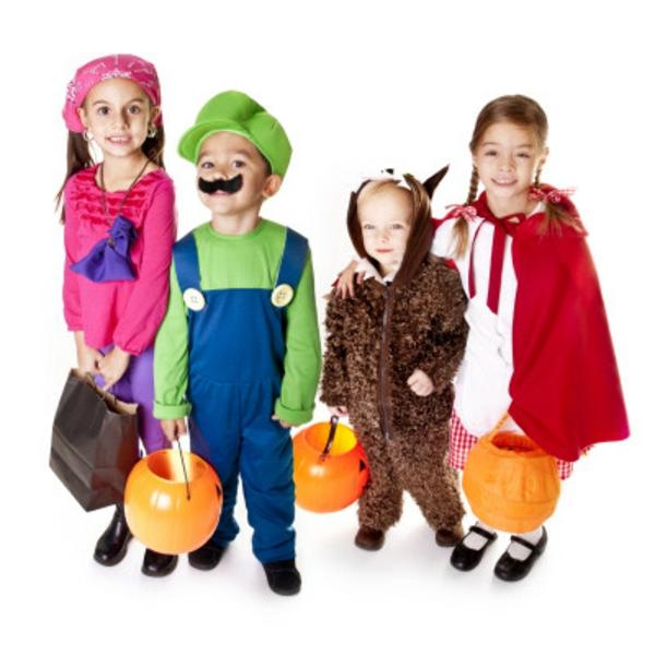 Halloween Kinderkostüme spiele süß
