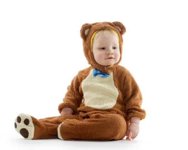 Kinderkostüme Halloween  wald braun bär
