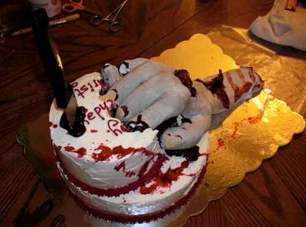 Zombie Cake Decorations