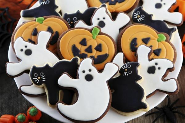 Halloween Party Essen buh geist