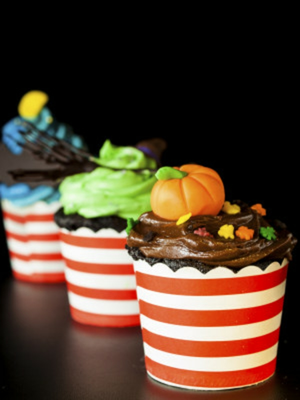 Halloween Party Essen kuchen bunt