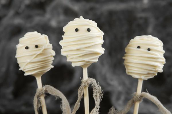 Halloween Party lutscher weiß schokolade Essen lollypop