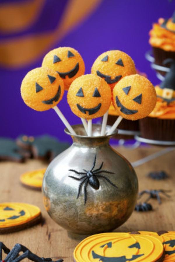 Halloween Party kürbisse Essen süßigkeiten