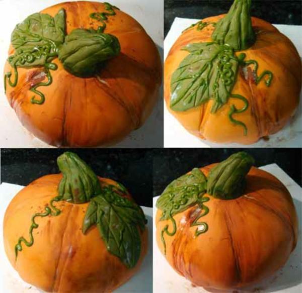 Halloween Party kürbisse torten kuchen grün