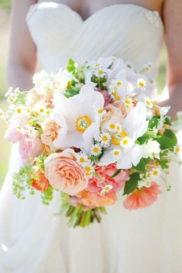 Hochzeitsblumen Coole Brautsträuße Bilder bunt