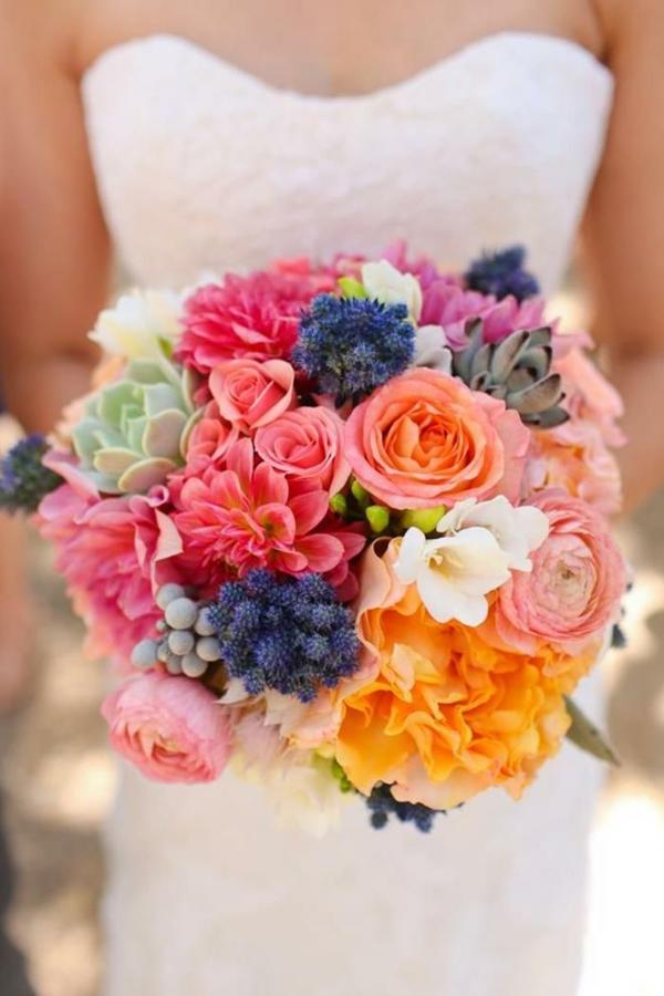 Hochzeitsblumen Coole Brautsträuße frisch