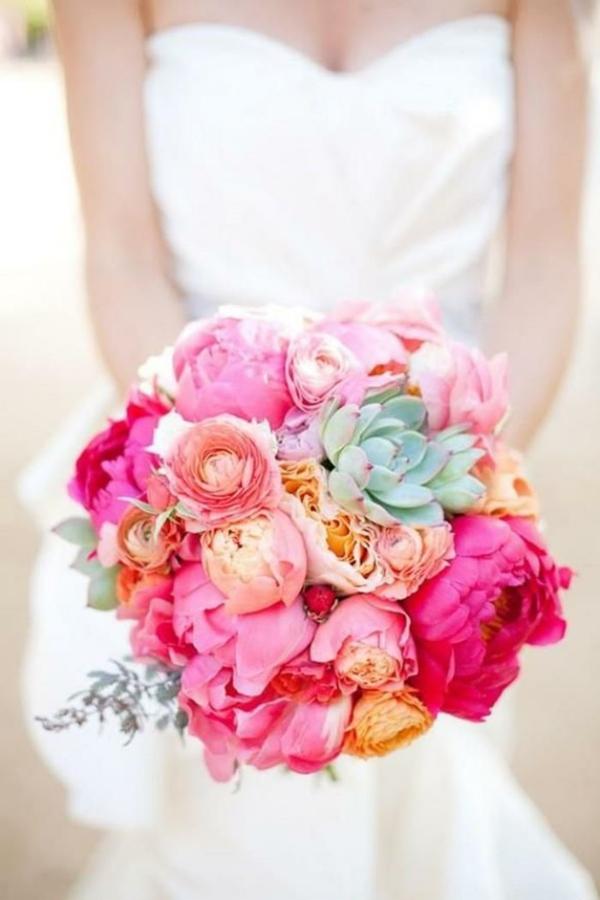 Hochzeitsblumen Coole Brautsträuße nett