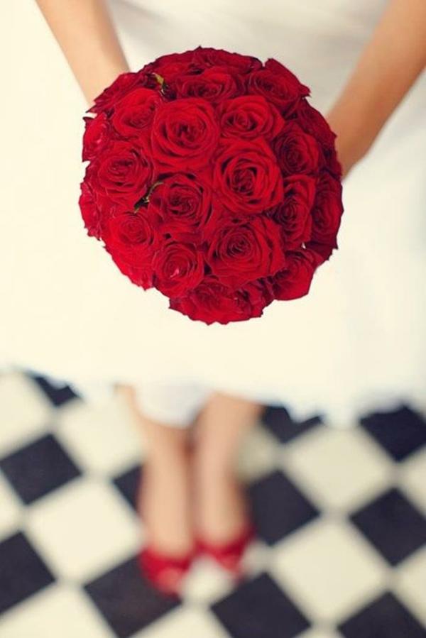 Brautsträuße Bilder Hochzeitsblumen ordentlich