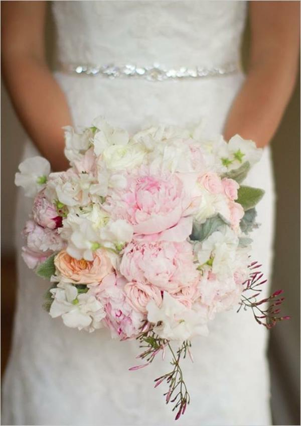 Hochzeitsblumen Brautsträuße Bilder schön
