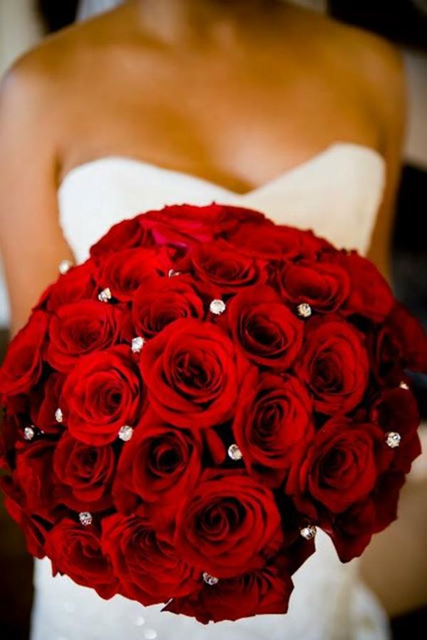 Hochzeitsblumen Brautsträuße Bilder verziert