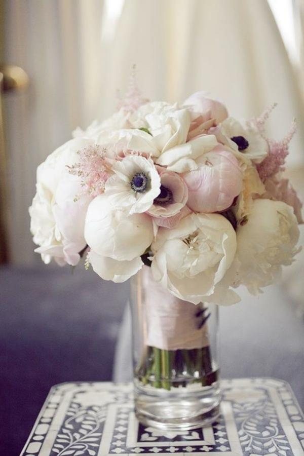 Hochzeitsblumen niedlich coole brautsträuße bilder zart