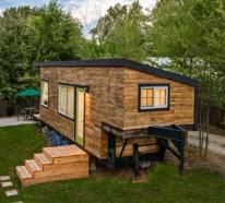 Holzhaus aus Europaletten – Ruhe in der Natur