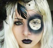 Halloween Gesicht Schminken