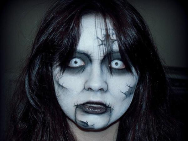 vampire gesicht schminken