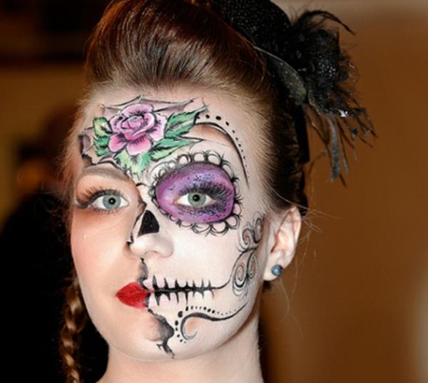 schminken für halloween