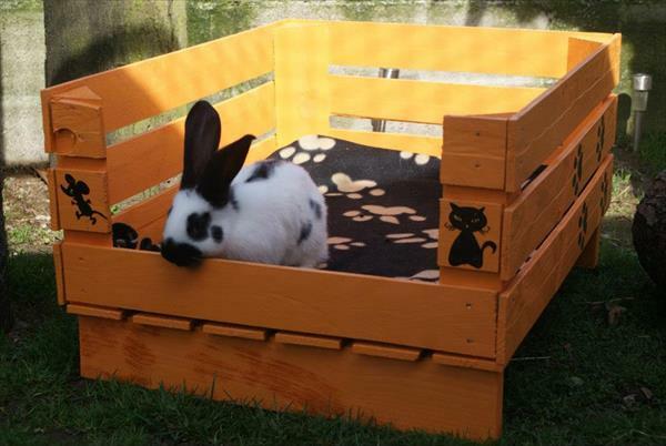 Hundebetten kaninchen Holz katzen sofas haustiere