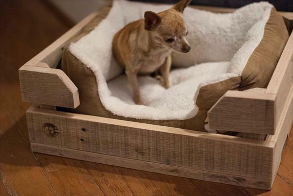 Hundebetten Holz katzen sofas haustiere weich