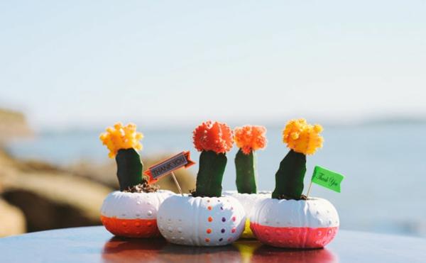 Küstennahe Hochzeitsdeko basteln pflanzen hochzeitsgäste