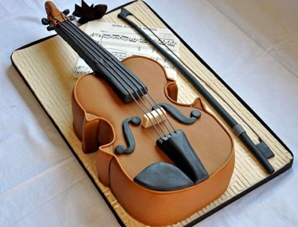 Leckere Torten viola Musik