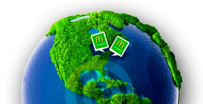 McDonalds nachhaltiges bauen grüne architektur