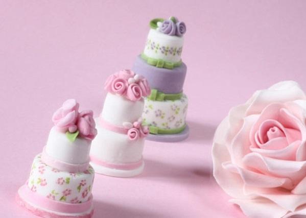 Mehrstöckige Hochzeitstorten kuchen braut mini
