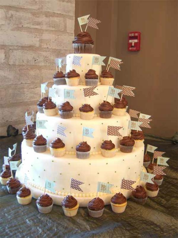 schokoladen muffin Hochzeitstorten kuchen braut schön
