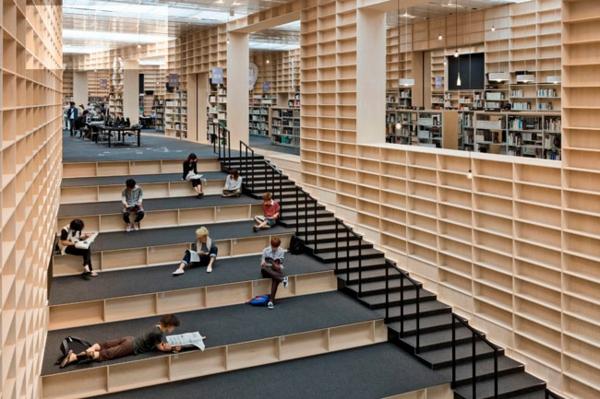 Moderne Architektur Und Wohnen Trittstufen Spiegel