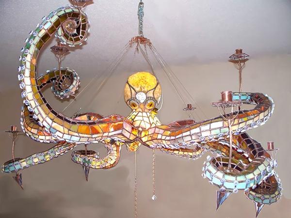 Oktopus Möbel dekoartikel art modern kronleuchter hängelampe