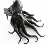 Oktopus Möbel und Dekoartikel verleihen einen geschmackvollen Touch