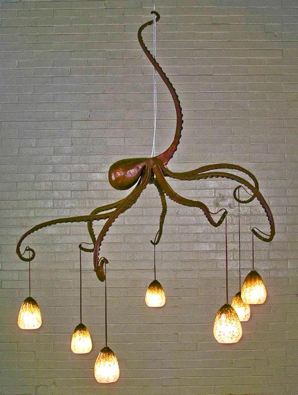Oktopus leuchten Möbel dekoartikel art modern pendelleuchten glühbirnen