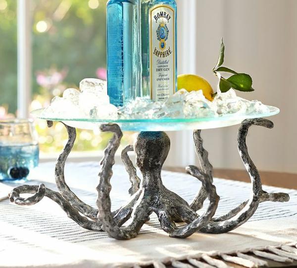 Oktopus Möbel dekoartikel art modern tischplatte