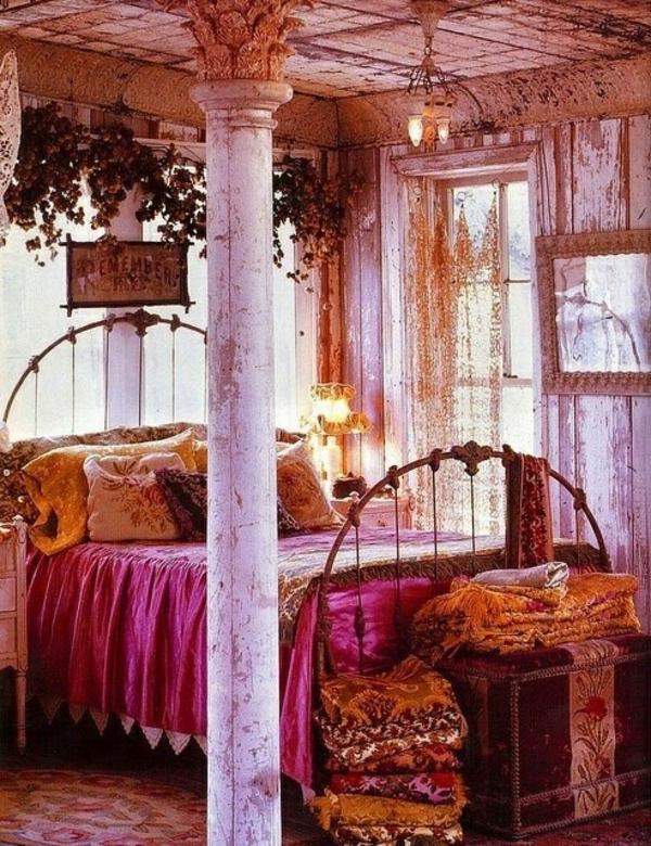 magenta farbe raumgestaltung ideen. Black Bedroom Furniture Sets. Home Design Ideas