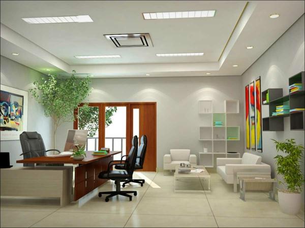 eingebaut deckenbeleuchtung Zimmerpflanzen wohnzimmer deko