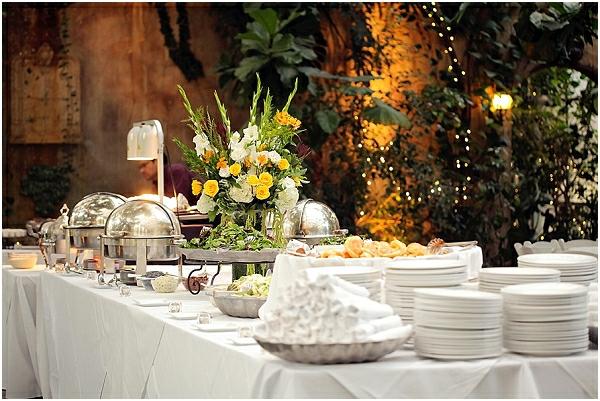 Romantische Hochzeitsfeier französisch Stil keramisch