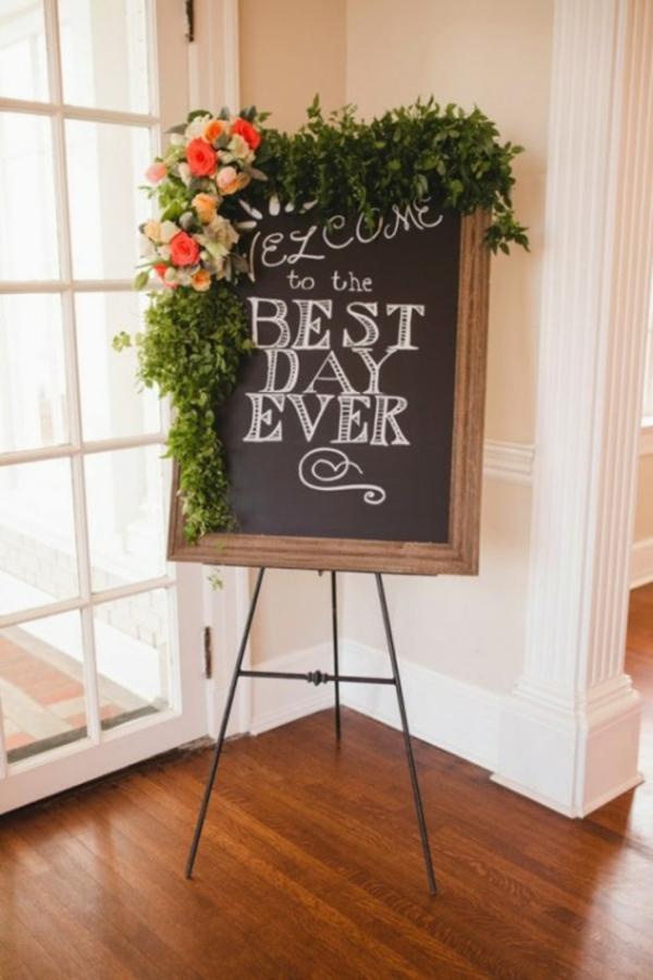 dekoideen Hochzeitsdeko Ideen hochzeit tafel
