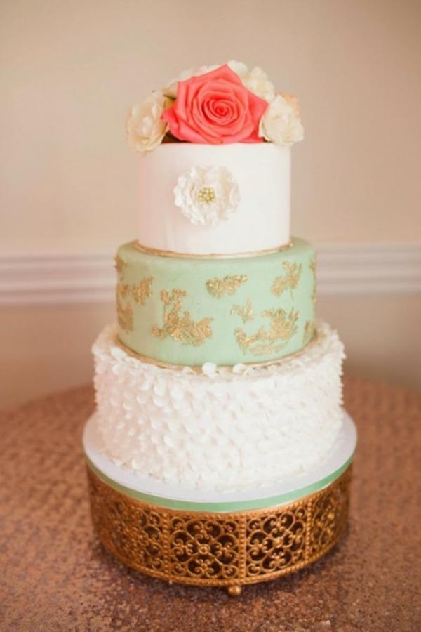 Hochzeit deko mehrstöckig torte Ideen dekoideen hochzeit torte
