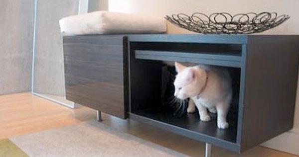 Tierfreundliche Katzenmöbel Kratzbäume toiletten