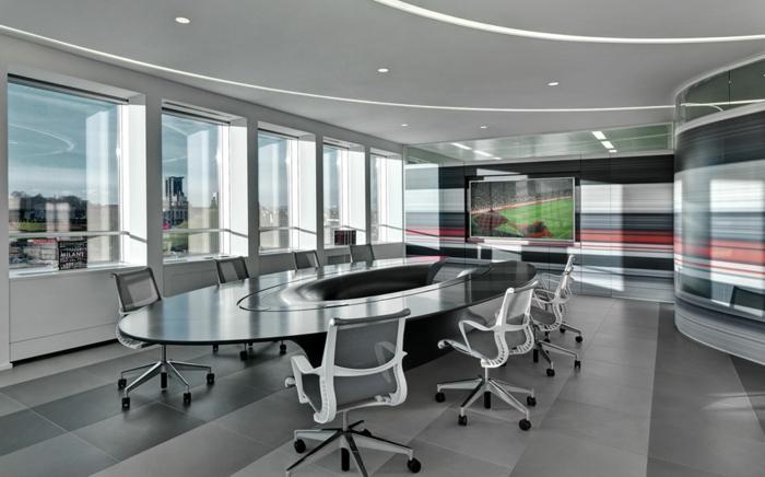 ac milan casa milan konferenzsaal büroeinrichtung moderne architekten fabio novembre