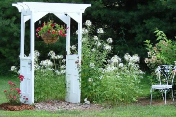 Alte Turen Im Garten Dekorieren Ideen Fur Gartendeko Aus Alten