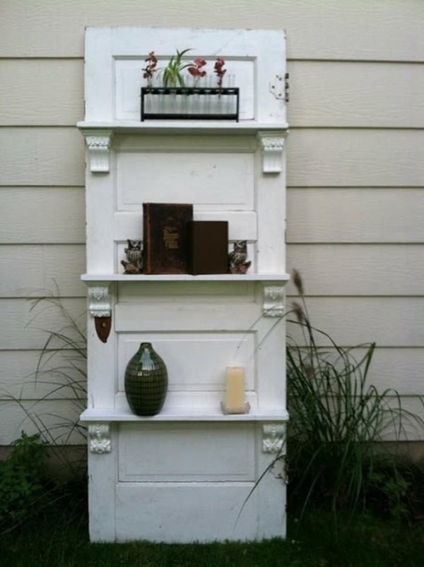 Regal Mit T Ren alte türen wiederverwenden coole dekoartikel und diy möbel