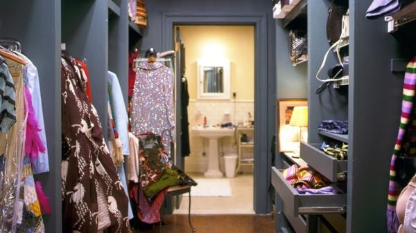 ankleidezimmer planen badezimmer begehbarer kleiderschrank