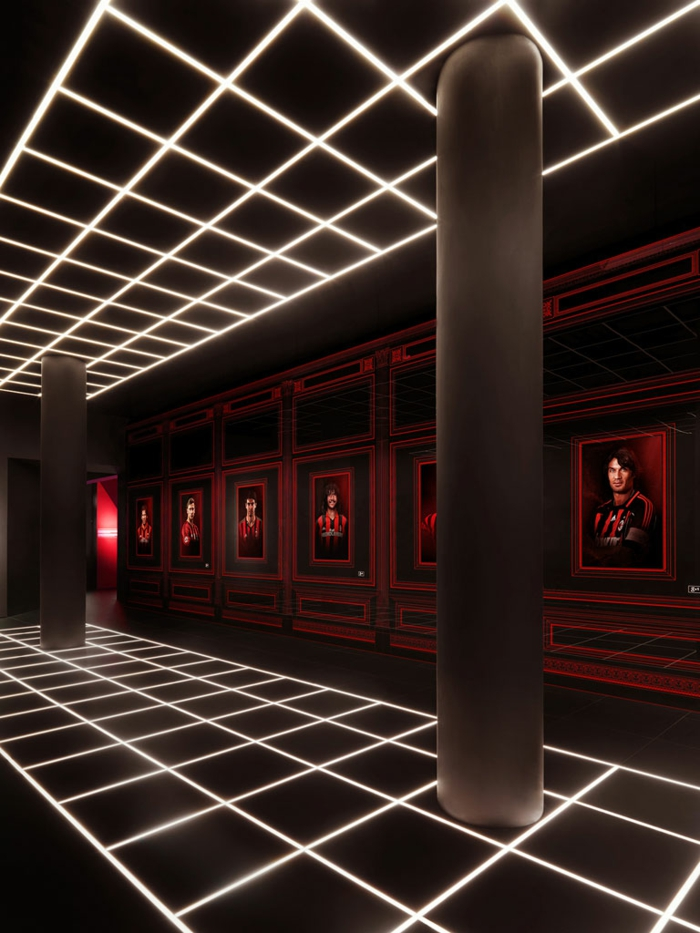 architekt fabio novembre fußbal museum casa milan portrait saal