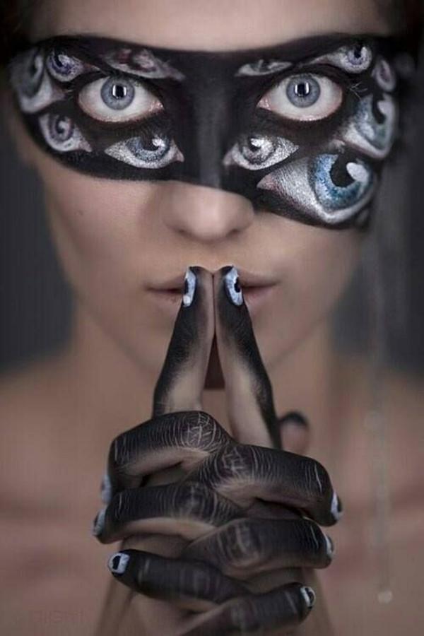 halloween schminken ideen damen